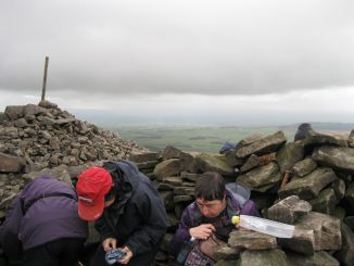 Lunch at Chipping Wood Fell